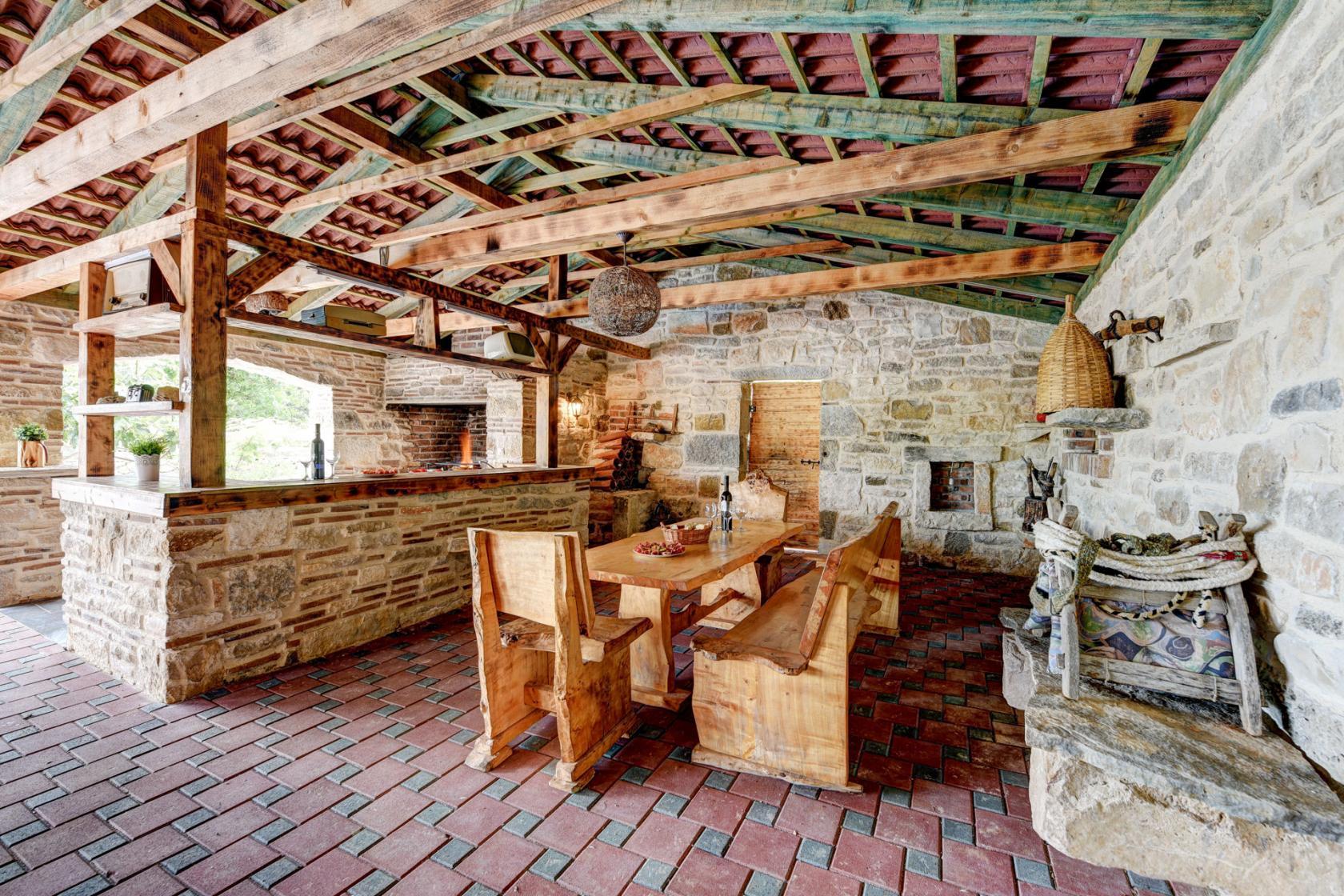 Villa Smilje in Slivnica, rural vacation, traditional villa, www.zadarvillas.com